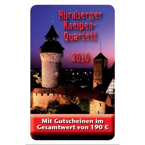 Kneipen Quartett Nürnberg 2010 Cover