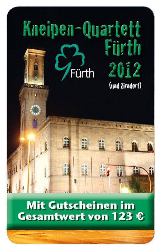 Kneipen Quartett 2012 Fürth