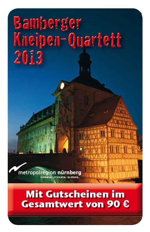 Kneipen Quartett 2013 Bamberg