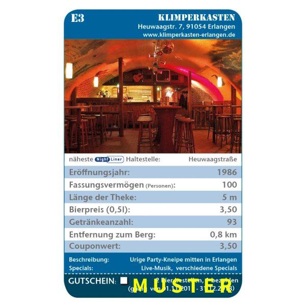 Kneipenquartett Erlangen 2018 Beispielseite
