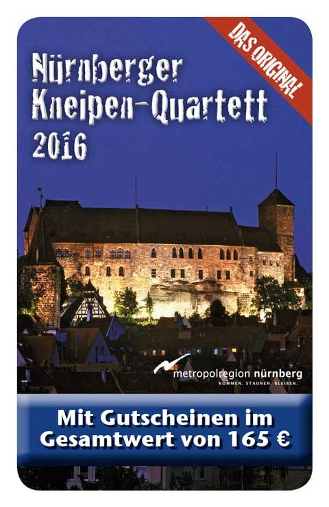 Kneipen Quartett 2016 Nürnberg Cover