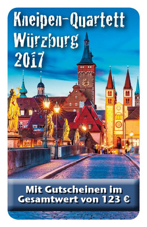 Kneipen Quartett 2017 Würzburg Cover