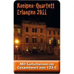 Kneipenquartett Erlangen 2011 Cover