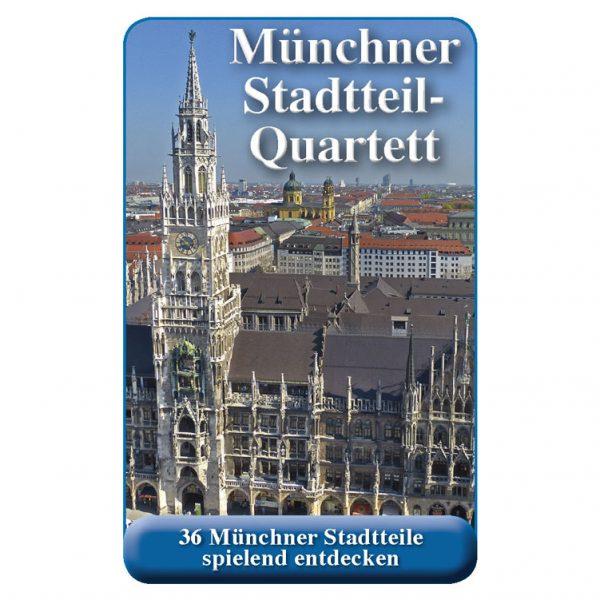 Stadtteilquartett München Cover Square