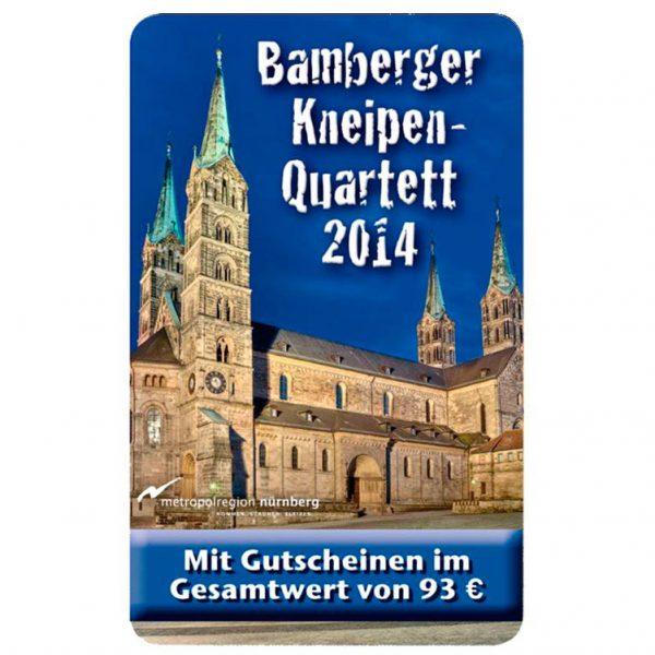 Kneipenquartett 2014 Cover Bamberg Square