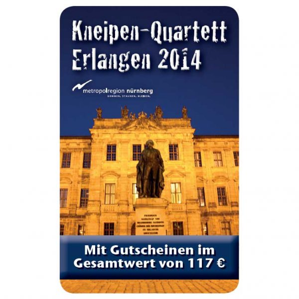 Kneipenquartett 2014 Cover Erlangen Square