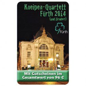 Kneipenquartett 2014 Cover Fürth mit Zirndorf Square