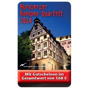Kneipenquartett 2014 Cover Nürnberg Square