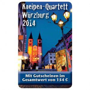 Kneipenquartett 2014 Cover Würzburg Square
