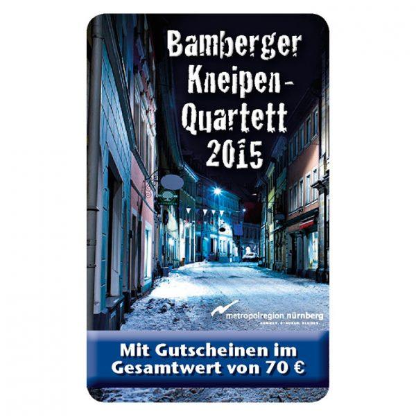 Kneipenquartett 2015 Bamberg Cover Square