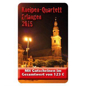 Kneipenquartett 2015 Erlangen Cover Square