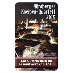 Kneipenquartett 2015 Nürnberg Cover Square