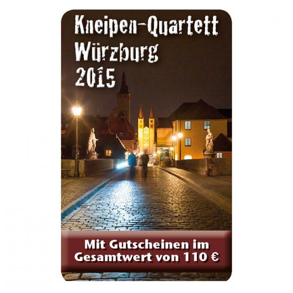 Kneipenquartett 2015 Würzburg Cover Square