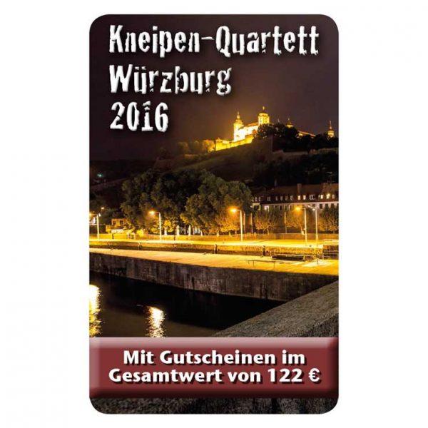 Kneipenquartett 2016 Würzburg Cover Square