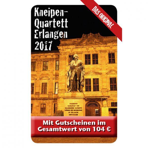Kneipenquartett 2017 Erlangen Cover Square