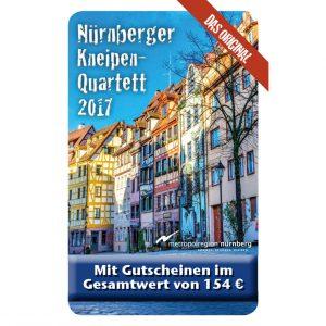 Kneipenquartett 2017 Nürnberg Cover Square