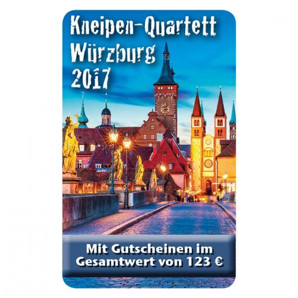 Kneipenquartett 2017 Würzburg Cover Square