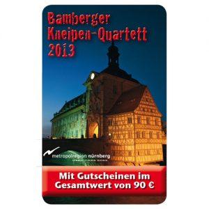 Kneipenquartett Bamberg 2013 Cover Square