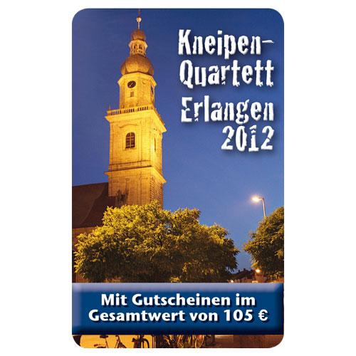 Kneipenquartett Erlangen 2012 Cover Square