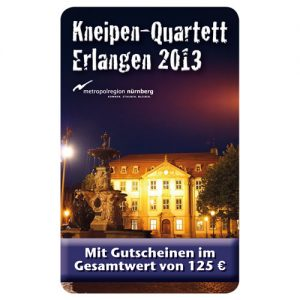 Kneipenquartett Erlangen 2013 Cover Square