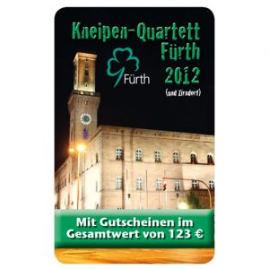 Kneipenquartett Fürth mit Zirndorf 2012 Cover Square