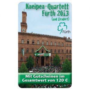 Kneipenquartett Fürth mit Zirndorf 2013 Cover Square
