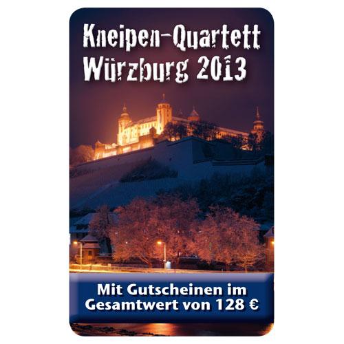 Kneipenquartett Würzburg 2013 Cover Square