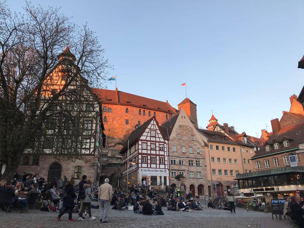 Albrecht-Dürer-Platz Nürnberg