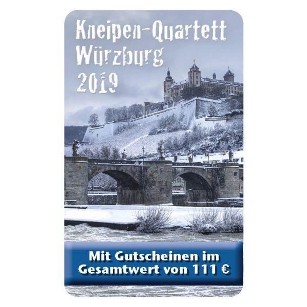 Kneipenquartett 2019 Würzburg Cover Square