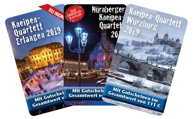 Kneipenquartette 2019 Alle Ausgabe im Überblick