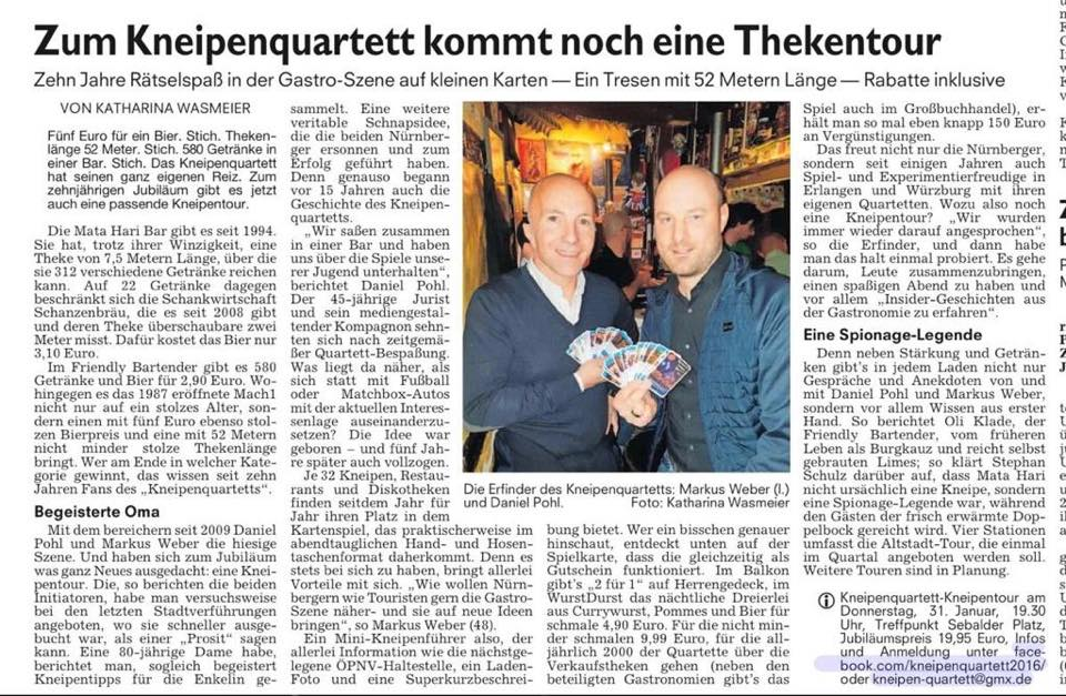 NN 2019 Kneipenquartett