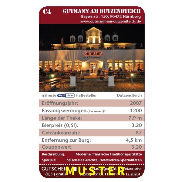 Kneipenquartett 2020 Nürnberg Musteseite Gutmann Dutzendteich