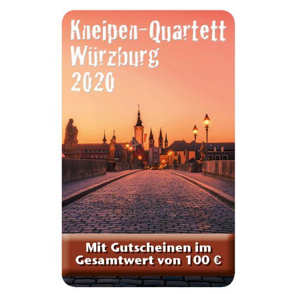 Kneipenquartett 2020 Würzburg Cover Square