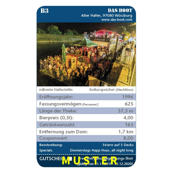 Kneipenquartett 2020 Würzburg Musterseite Das Boot